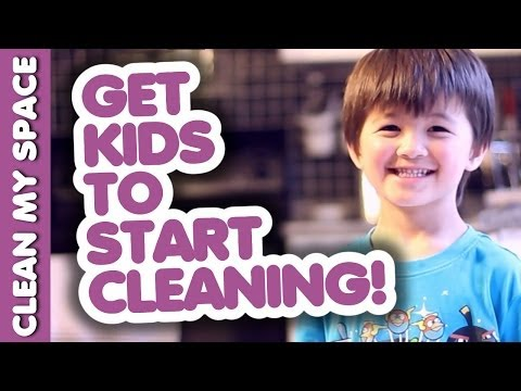 How To Get Kids to Start Cleaning! (Clean My Space)