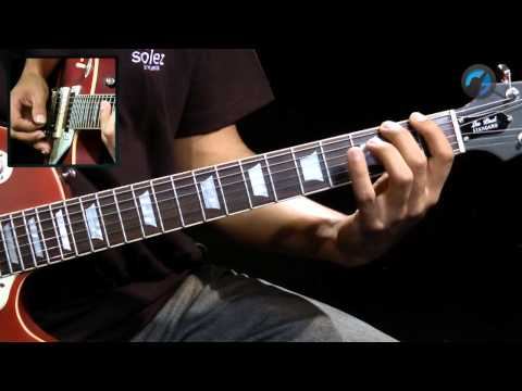 Exerc�cios de Hammer-On e Pull-Off - (aula t�cnica de guitarra)