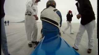 1000 cc gsxr Land speed motorcycle racing at Bonneville Salt Flats. Filmed with a GoPro camera!