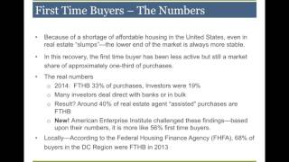 Targeting and Serving First Time Buyers | Liz McElroy-Filan, First Heritage | January 25, 2017
