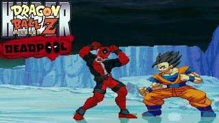 getlinkyoutube.com-Deadpool vs. Goku, Gohan, Frieza, and More! [Hyper Dragon Ball Z]