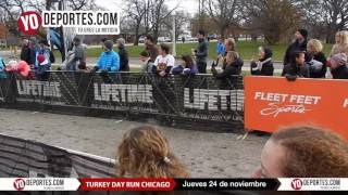Life Time Turkey Day Run Chicago 8K 5K 2016