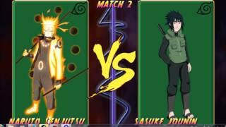getlinkyoutube.com-Luźne Pogrywajki #1 Naruto Infinity Mugen 3