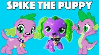 getlinkyoutube.com-Custom SPIKE THE PUPPY LPS || Littlest Pet Shop + My Little Pony
