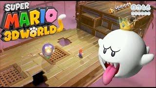 スーパーマリオ3Dワールド#17   テレサ出現!幽霊船に挑戦!【小学生以来のマリオを三浦TVが実況!】Wiiu×任天堂