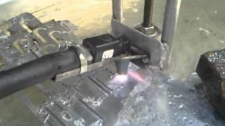 getlinkyoutube.com-Homemade CNC Plasma cutter with homemade THC system .mp4