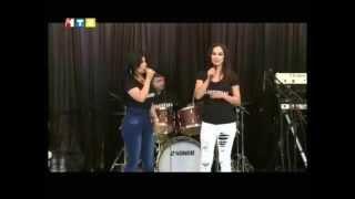 Ariana Sayeed with Humaira Eshpari