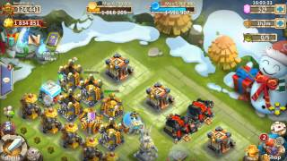Castle Clash Insane Dungeon 2-1 And 2-2 Tutorial