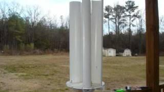 getlinkyoutube.com-How I made my first pvc wind turbine