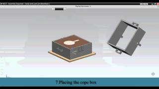 getlinkyoutube.com-GREEN SAND MOULDING USING NX UNIGRAPHICS (Siemens PLM software)