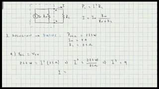 getlinkyoutube.com-Problema de Aplicacion Teoremas de Thevenin - Norton - Maxima Transferencia de Potencia - Video 116