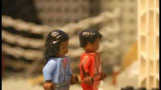 "getlinkyoutube.com-Michael Jackson's ""Thriller"" Tribute in LEGO"