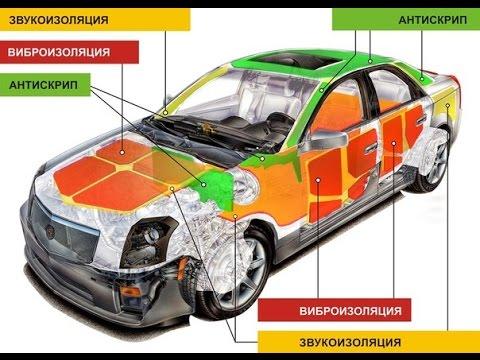 Шумоизоляция дверей Opel Kadett (половина работы) результат на лицо