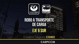 getlinkyoutube.com-Robo a Transporte de Carga Eje 6 Sur