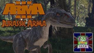 getlinkyoutube.com-Jurassic Arma (Arma 3 Mod) - Raptors!