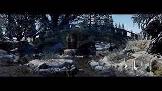 getlinkyoutube.com-Speed Level Design - Winter Bridge - Unreal Engine 4