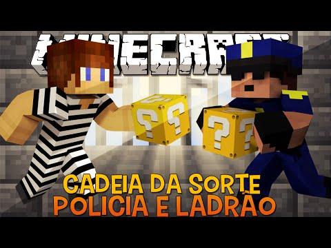 Policia e Ladrão - Cadeia da Sorte !! c/ Lucky Block Mod