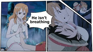 getlinkyoutube.com-Nami heroically attack the enemy and saves Luffy's life (HD english subs)