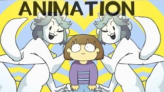 getlinkyoutube.com-Undertale Animation - High on Tem Flakes [Music Video] Temmie