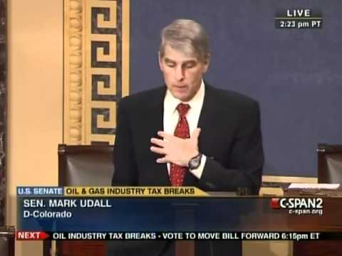 Udall Calls for Comprehensive Energy Policy, Ending Subsidies for the Big Five Oil Companies
