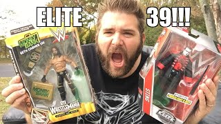 getlinkyoutube.com-LIVING OUTSIDE UNBOXING WWE Elite Series 39 Wrestling Figures!
