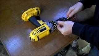 getlinkyoutube.com-Dewalt cordless drill repair, SMOKING MOTOR !