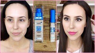 getlinkyoutube.com-NEW Maybelline Better Skin Foundation + Concealer Review/First Impression