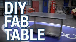 getlinkyoutube.com-DIY Welding & Fab Table with MIG Welder and Plasma Cutter from Eastwood