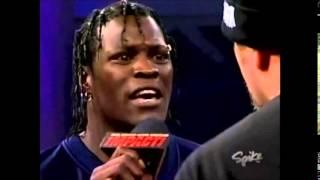Kip James and 3 Live Kru In Ring Confrontation