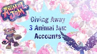 getlinkyoutube.com-Animal Jam - Giving Away 3 Old Accounts