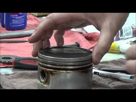 How to install piston rings and not break them BONUS: oil ring explanation POV installation!