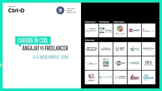 getlinkyoutube.com-Carieră în Ctrl: Angajat vs Freelancer (Aftermovie)