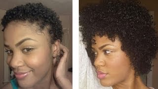 getlinkyoutube.com-Fast Growth! One year natural! Type 4a,4b,4c hair