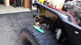 getlinkyoutube.com-TJ 2003 Jeep stock wiring and blink routine for Parking lights and Turn Signals