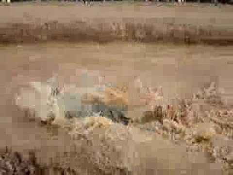 Arrancad�o na Lama - FenaJeep 2007