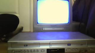 2004 Samsung DVD-V4600C VCR/DVD Player Running (Part 2)