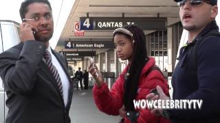 getlinkyoutube.com-Willow Smith spotted arriving at LAX Airport