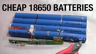 getlinkyoutube.com-Cheap 18650 Lithium Ion Batteries to Create the Ultimate 192V 4000W Electric Go-Cart or Car: Series