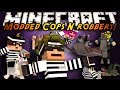 Minecraft Mini-Game : MODDED COPS N ROBBERS! MO CREATURES!