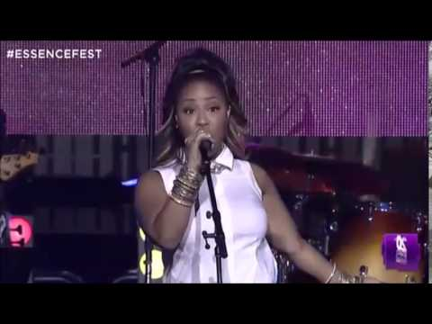 Erica Campbell -  Tribute to Yolanda Adams (Essence Festival 2014)