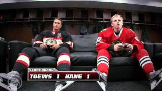 getlinkyoutube.com-Patrick Kane vs Jonathan Toews NHL 11 (FUNNY)