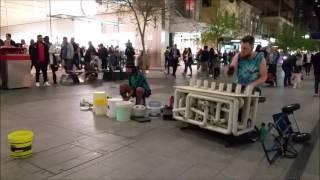 getlinkyoutube.com-Pipe Guy and Techno Hobo - Improv Jam (feat Annoying Spruiker)