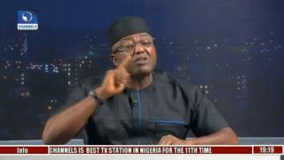 PDP Leadership Crisis: Sheriff Resumes Duty At National Office Pt. 1