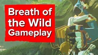 getlinkyoutube.com-Zelda: Breath of the Wild gameplay - The Game Awards 2016
