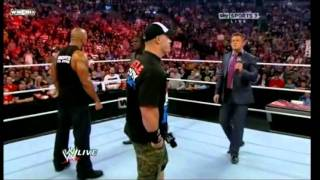 getlinkyoutube.com-John Cena And The Rock Confront Awesome Truth