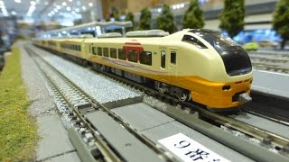 getlinkyoutube.com-【Nゲージ】GREENMAX E653系1000番代 いなほ 7両編成セット 導入試運転【鉄道模型】