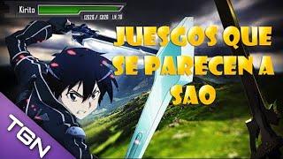 getlinkyoutube.com-Juegos parecidos a SAO [Sword Art Online] HD Comentado