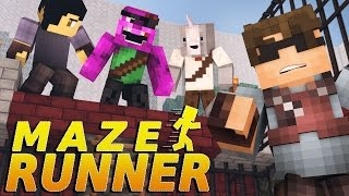 "getlinkyoutube.com-Minecraft MAZE RUNNER! - ""Welcome to the Maze"" #1(Minecraft Roleplay)"