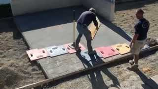 getlinkyoutube.com-How to Stamp Concrete