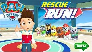 getlinkyoutube.com-Paw Patrol Rescue Run Minijuegos Gameplay Español